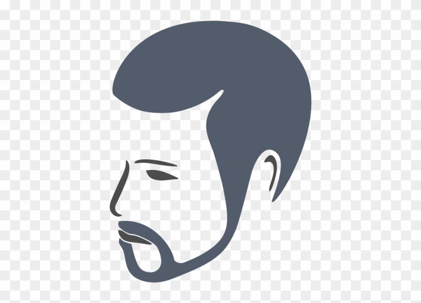 Bearded Man Face Logo - Png Logo Face Man #1221928