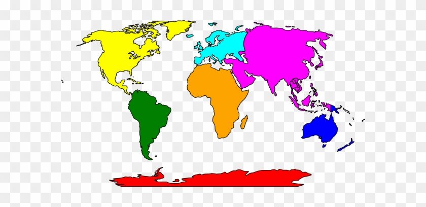 Simple World Map Clipart 3 By Sheri World Map Throw Blanket Free