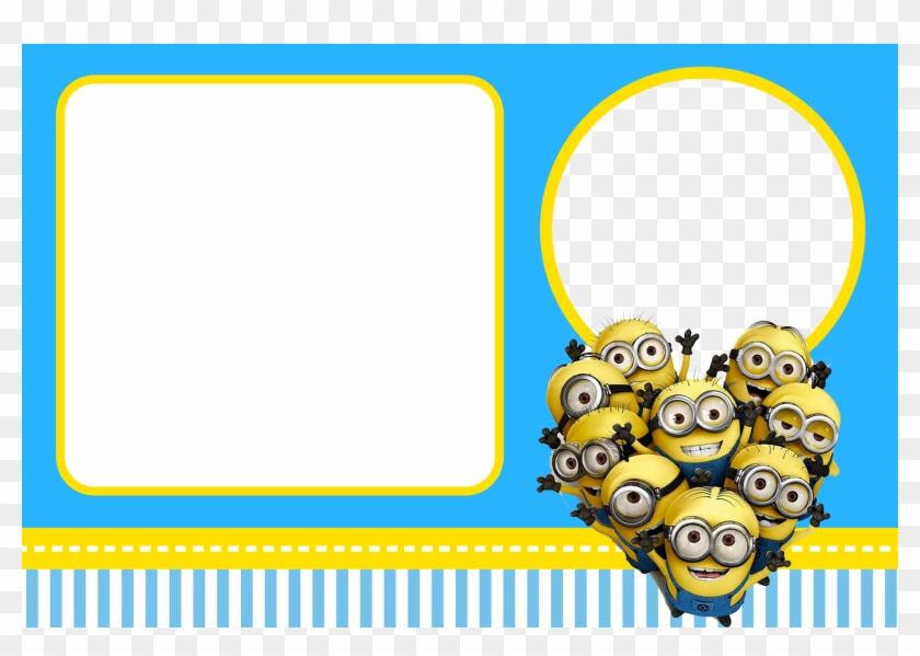 Free Despicable Me Party Invitations - Invitation Birthday Card Minions #1223075