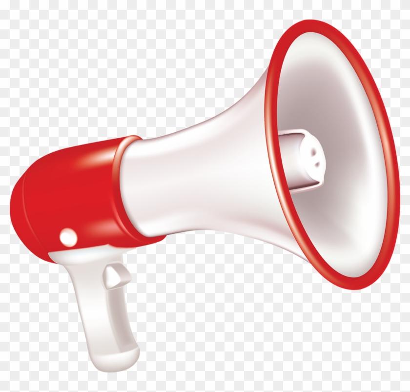 Megaphone Microphone Loudspeaker - Megaphone Icon #1223084