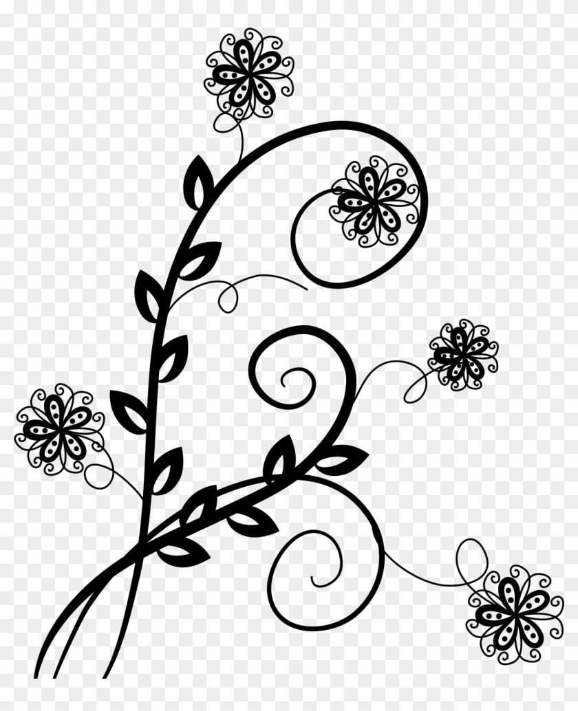 Flower Swirl Design Cute Designing Download Flower Designs No
