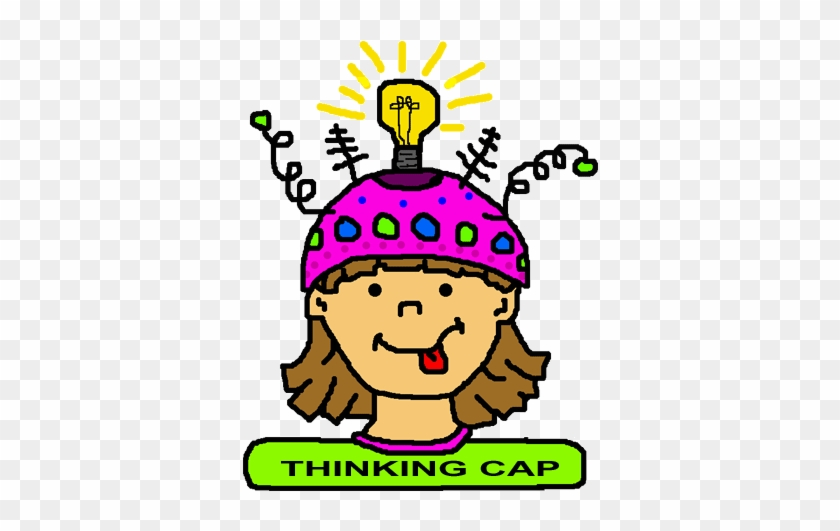 thinking cap clip art see think and wonder free transparent png rh clipartmax com Person Thinking Clip Art Animated Person Thinking