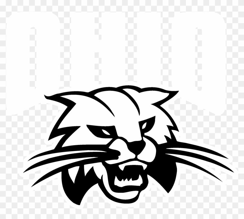 Ohio Bobcats Logo Black And White Ohio Bobcats Free Transparent