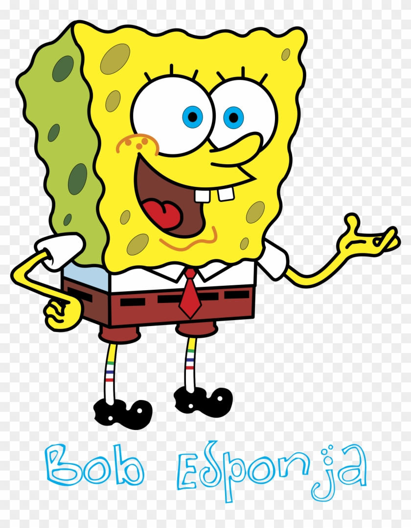 Bob Esponja Logo Png Transparent - Spanish Location Words #1225416
