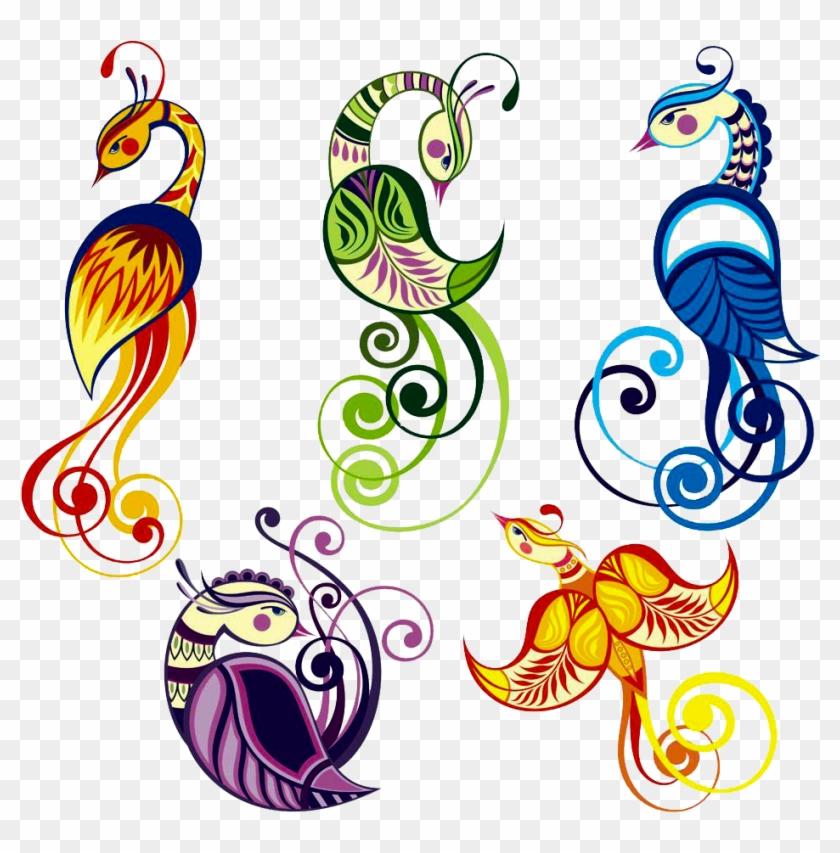 Bird Peafowl Tattoo Feather Drawing - Peacock Tattoo - Free
