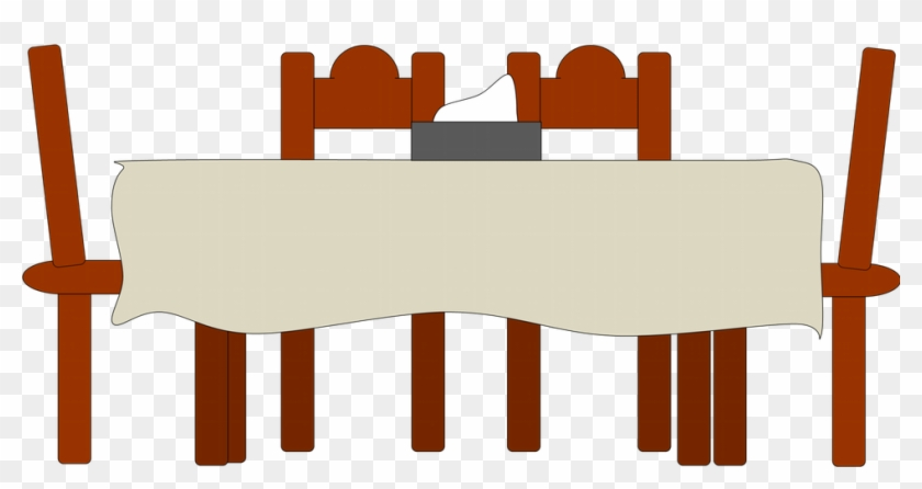Useful For Developer Country Dinner Table Clipart Bese64 - Cartoon Dining Table #1226644