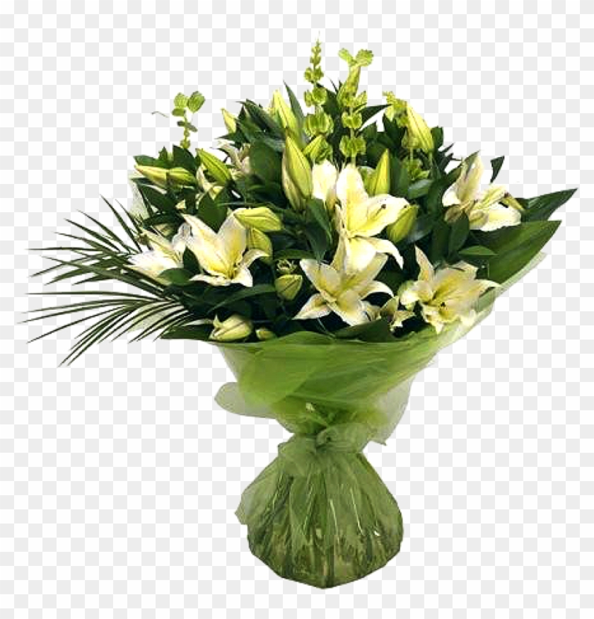 Bunch - Lilies Bouquet Flowers #1226975