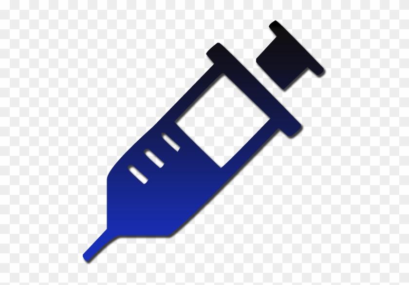 Medical Syringe Symbol Clipart Image - Clip Art Medical Symbols #197055