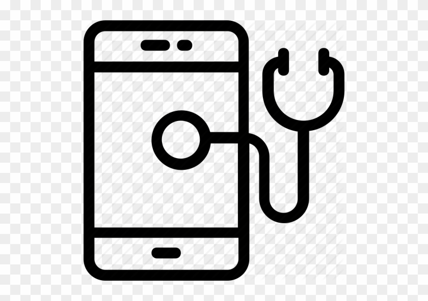 App Health Medical Mobile Icon Clipart For Phone Icons - Mobile Health App Icon #197192