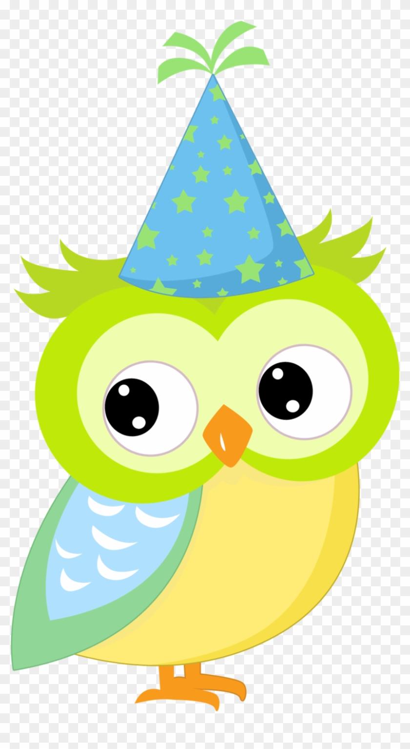 Exibir Todas As Imagens Na Pasta Nueva Carpeta - Birthday Clip Art Owl #197292