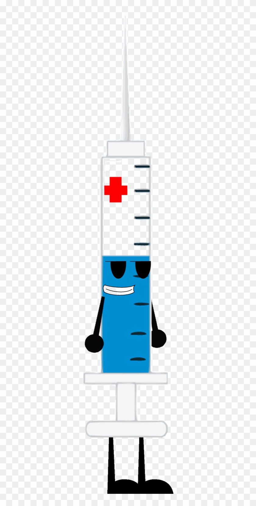 Syringe By Florence100-sylveon On Clipart Library - Cross #197593