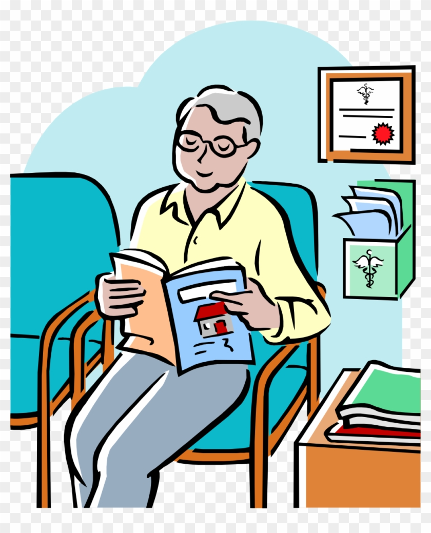 So For Starters, I'd Suggest A Nice Coat Of Paint In - Doctors Waiting Room Clip Art #197639