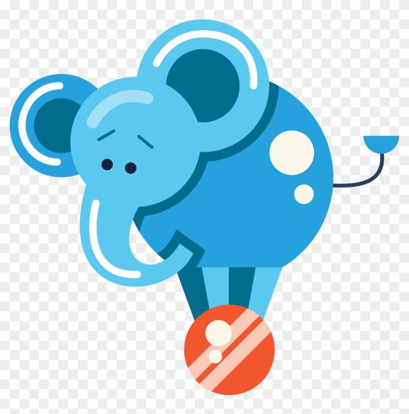 Circus Elephant Clip Art - Circus #198081