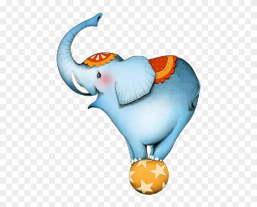 Circus Clipart Transparent - Elephant Circus #198259