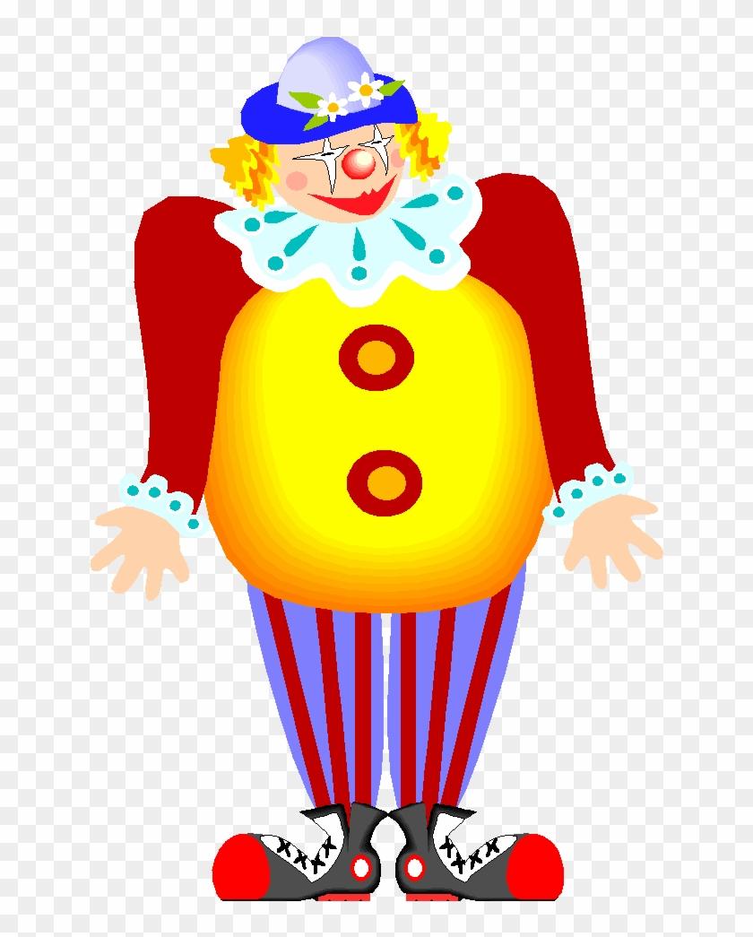 Clown Blog Circus Clip Art - Ver Imagenes Animadas De Payasitos Con Movimiento #198351