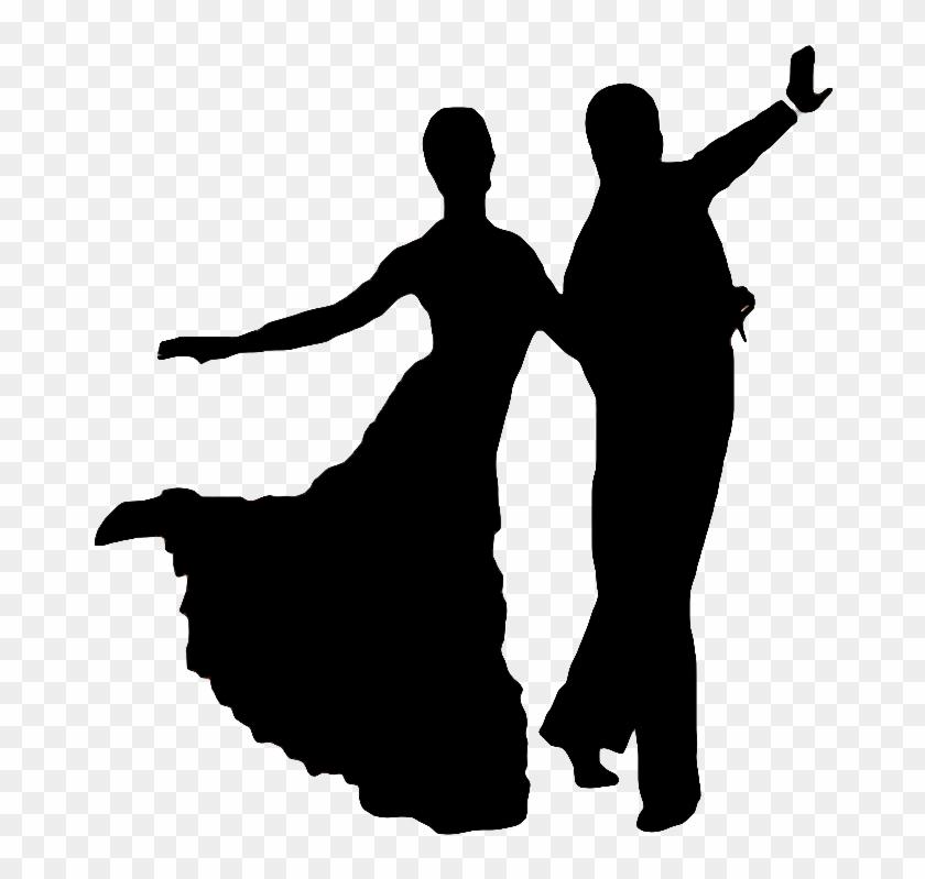 Foxtrot Silhouette Dance Silhouettes Foxtrot Free Transparent Png Clipart Images Download