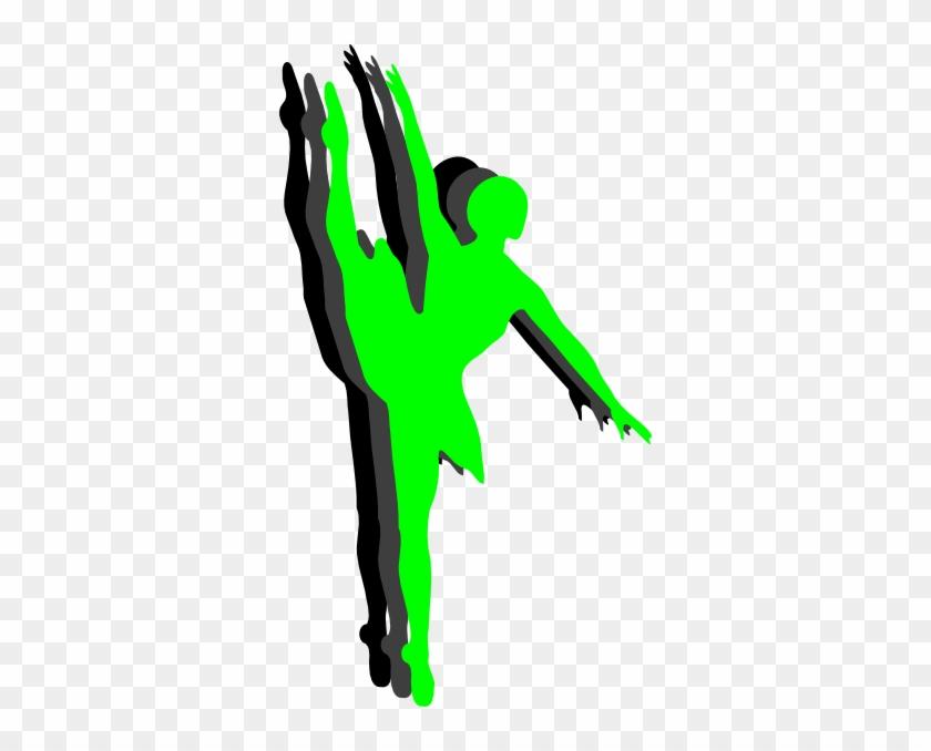Triple Ballet Dancer Silhouette Clip Art - Ballet Dancer #198588