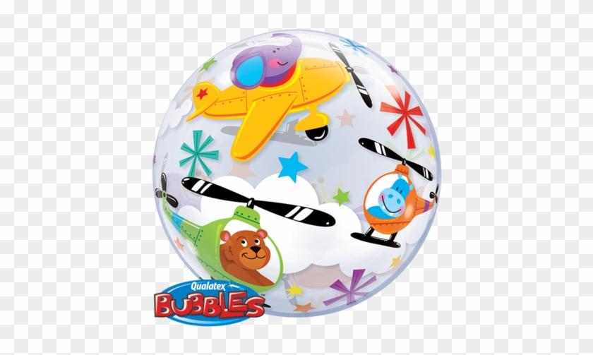 Flying Circus Bubble Balloon - 56cm Bubble Balloon Flying Circus #198594