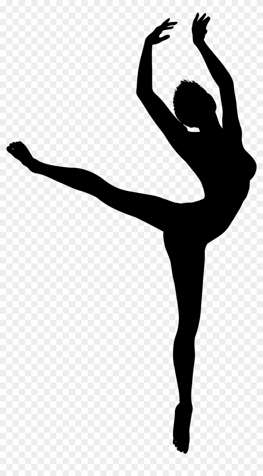 Dancer Silhouette 2 - Dancer Silhouette Png #198711