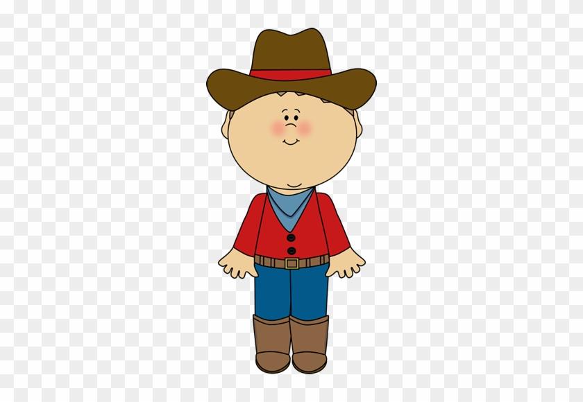 Kid Cowboy Clip Art - Cowboy Clipart #198752