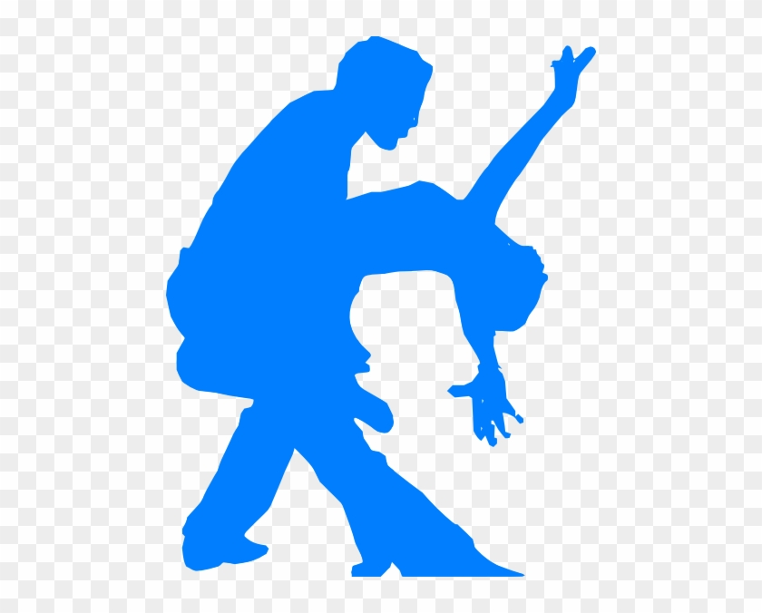 Salsa Clip Art - Salsa Dancing Couple Silhouette #198850
