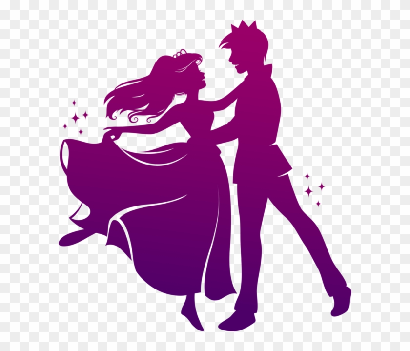 Dance Couples Silhouettes - Prince And Princess Silhouette #198857