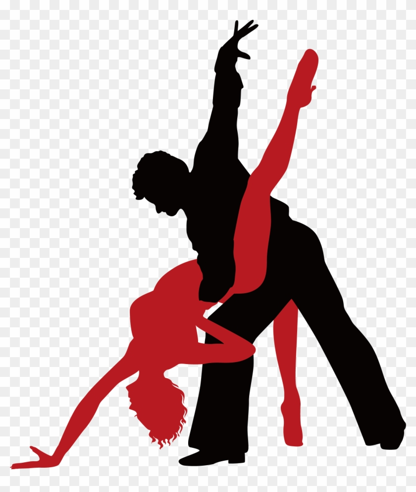 Ballroom Dance Tango Royalty-free - Ballroom Dance Silhouette Png #198932