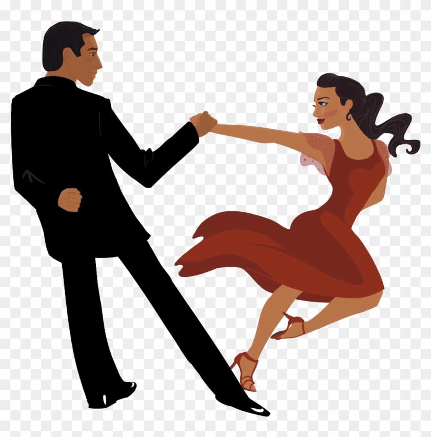 Tango Ballroom Dance Latin Dance Salsa - Latin Dance Png #198934