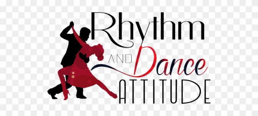 Rhythm & Dance Attitude Is A Boutique Ballroom Dance - Dance Couple Vector #198968