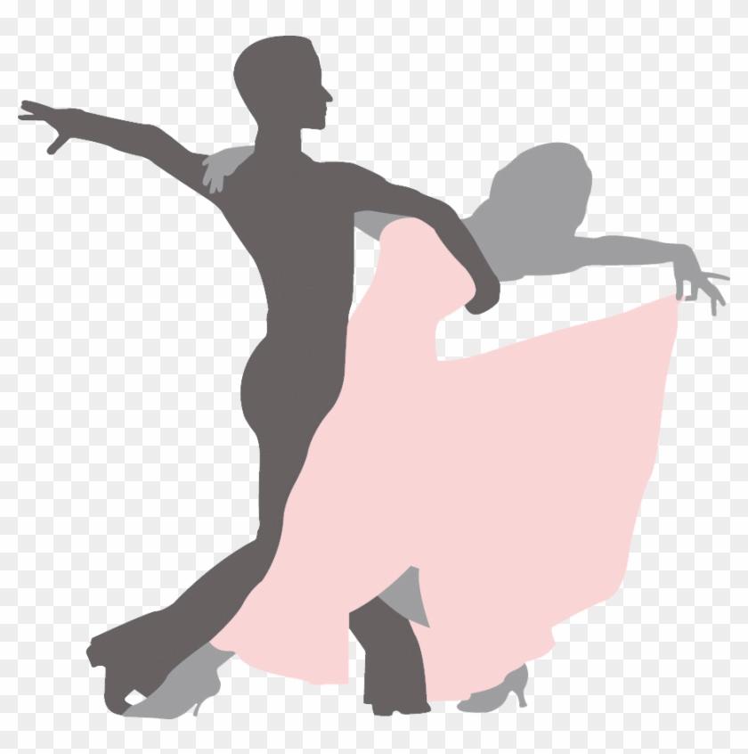 Dance Studio Dance Party Salsa Swing - Simple Ballroom Dancing Silhouette #199037