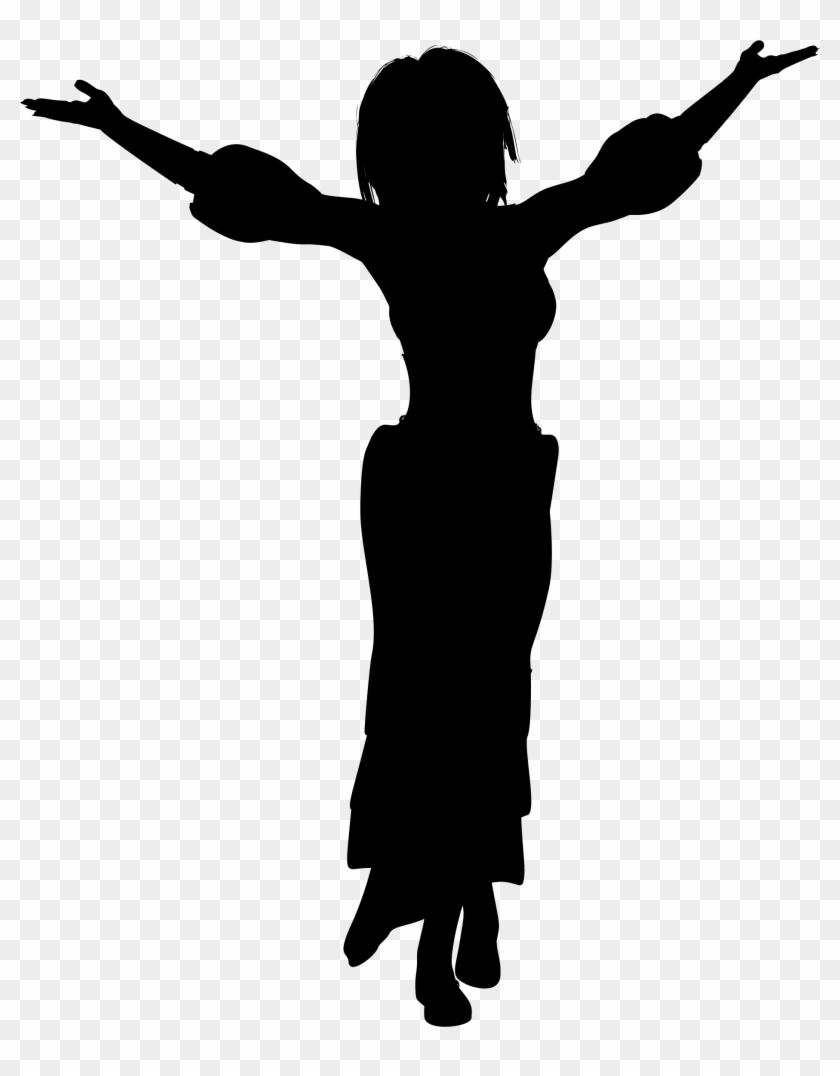 Info Elegant Woman Silhouette Clipart Free Downloads - Woman Silhouette #199042