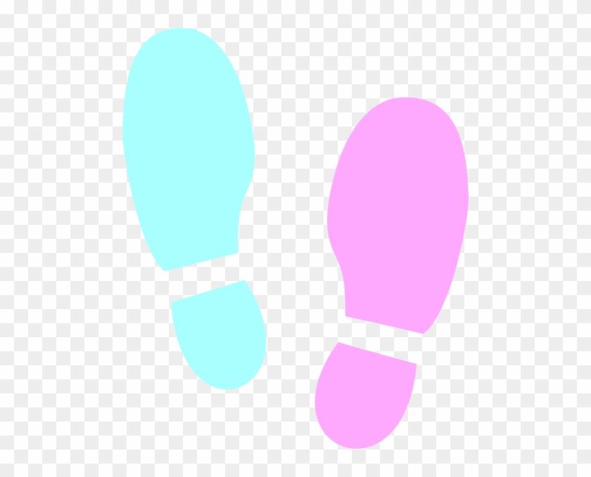Tap Shoes Clip Art - Dancing Shoe Prints #199075