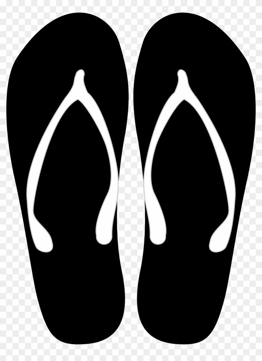 Clip Arts Related To - Flip Flops Vector Png #199190