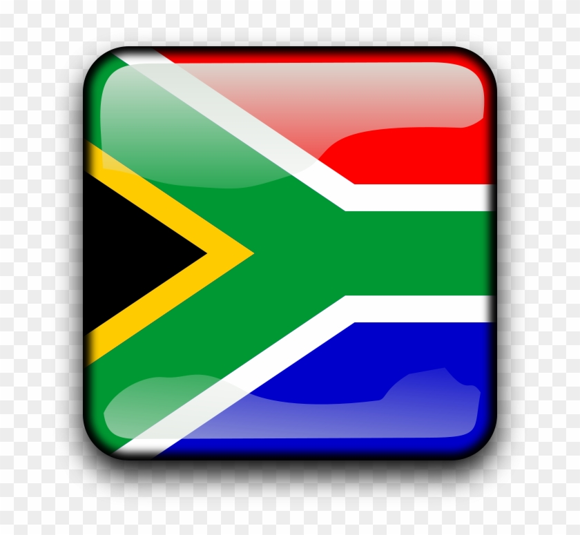 Africa Clipart South Africa - Flag Of South Africa #199193