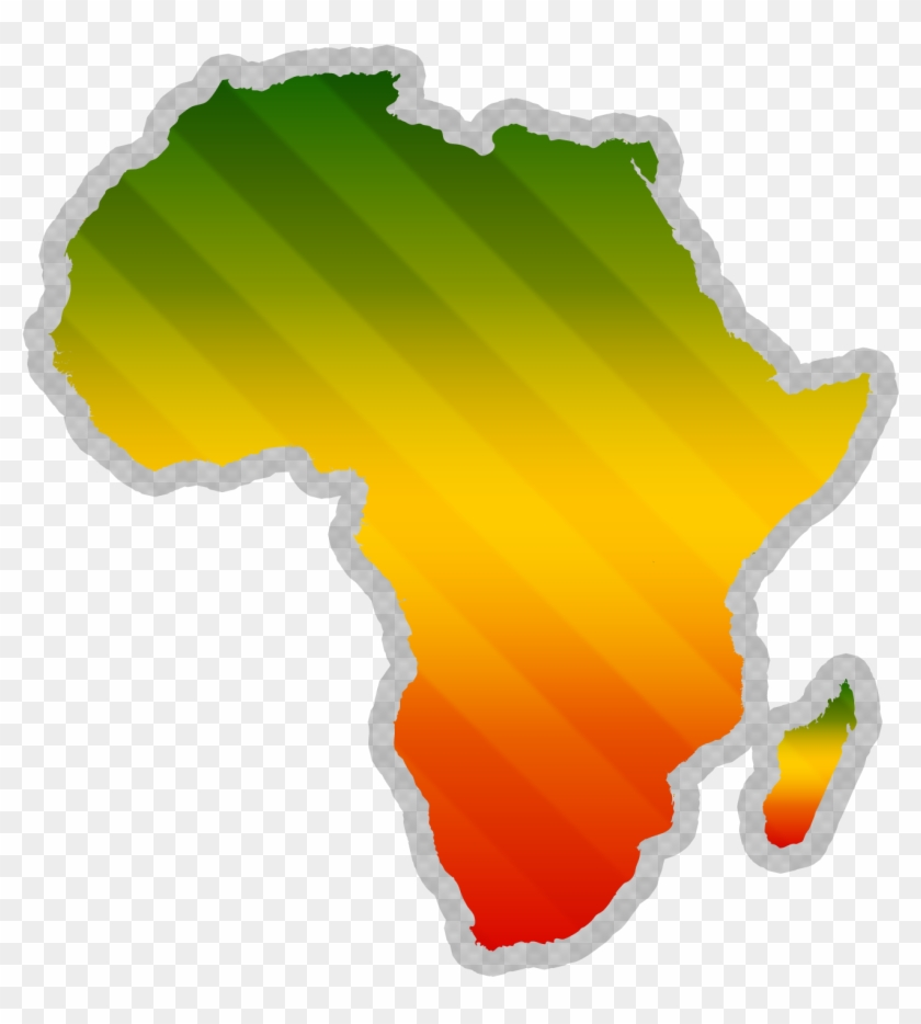 Africa Clipart Ancient - Africa Map Clipart Transparent #199203
