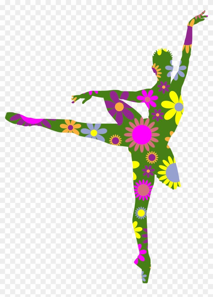 Floral Braided Hair Ballerina - Floral Ballerina #199342
