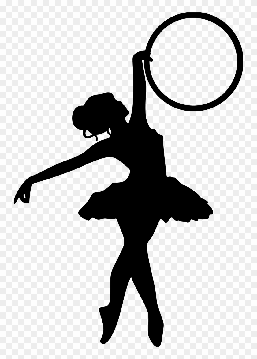 Personalize Tumblers, Ramblers And Growlers Powder - Ballerina Silhouette Png #199377
