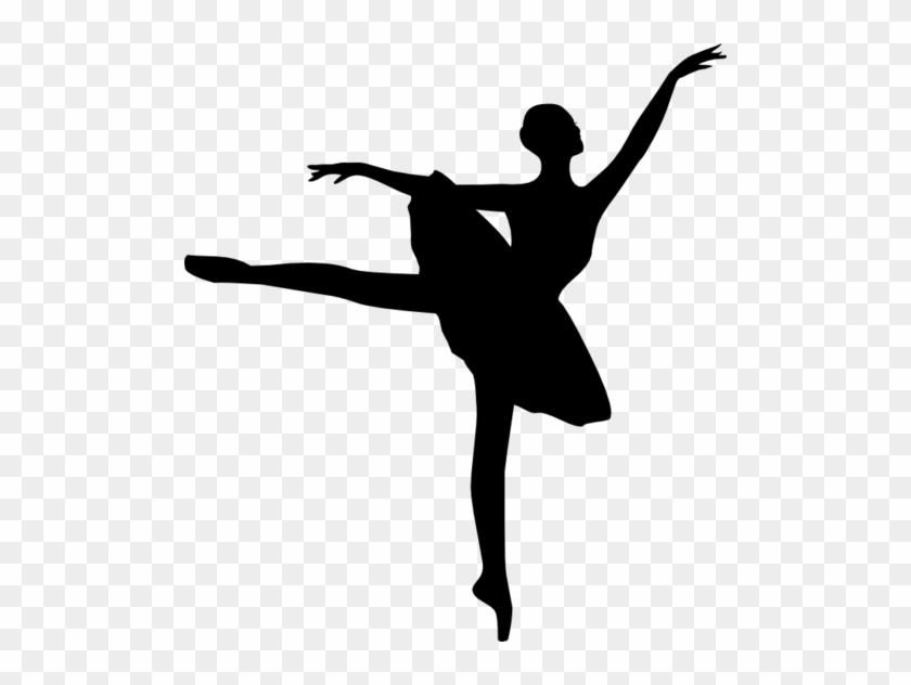 Wingfield School Of - Ballet Dancer Silhouette #199544