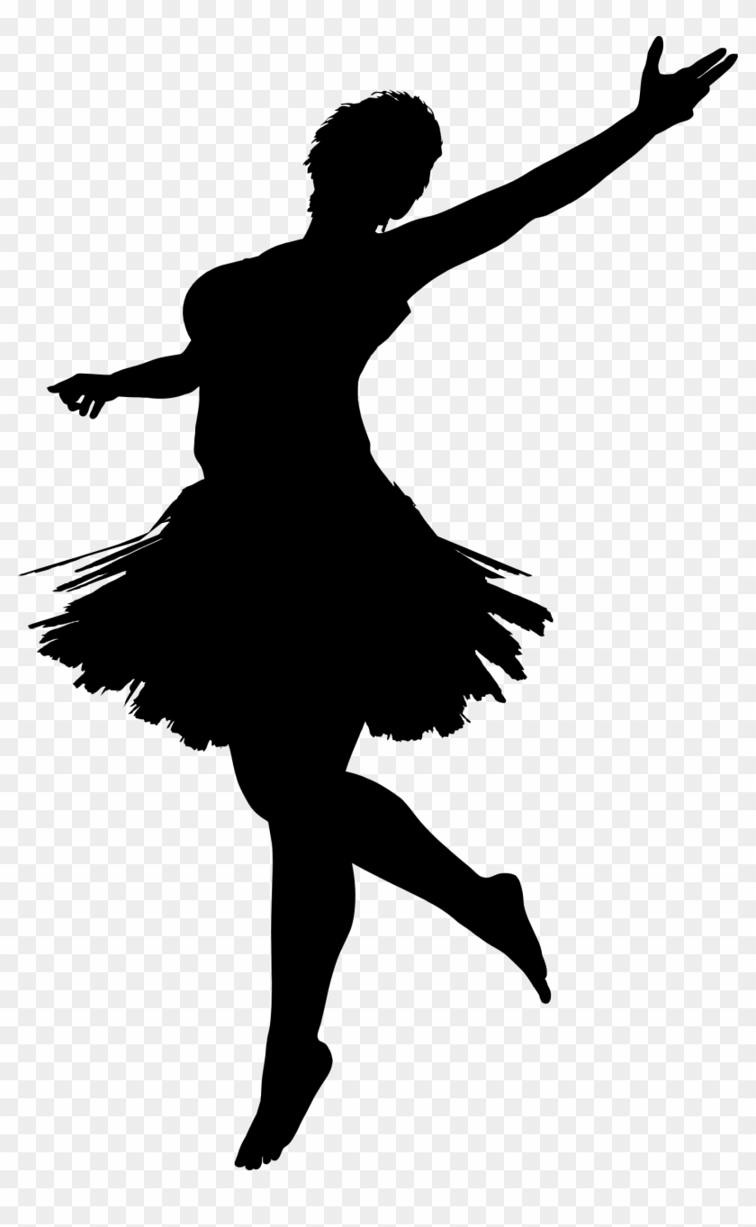 Big Image - Dancing Girl Vector Png #199548