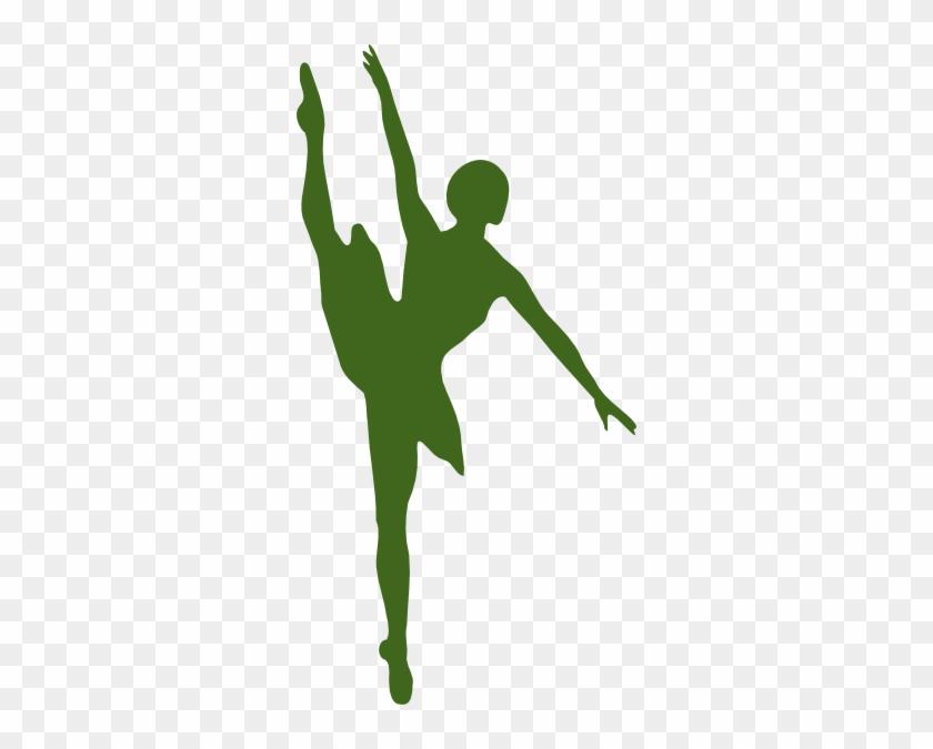 Ballet Dancer Silhouette #199915