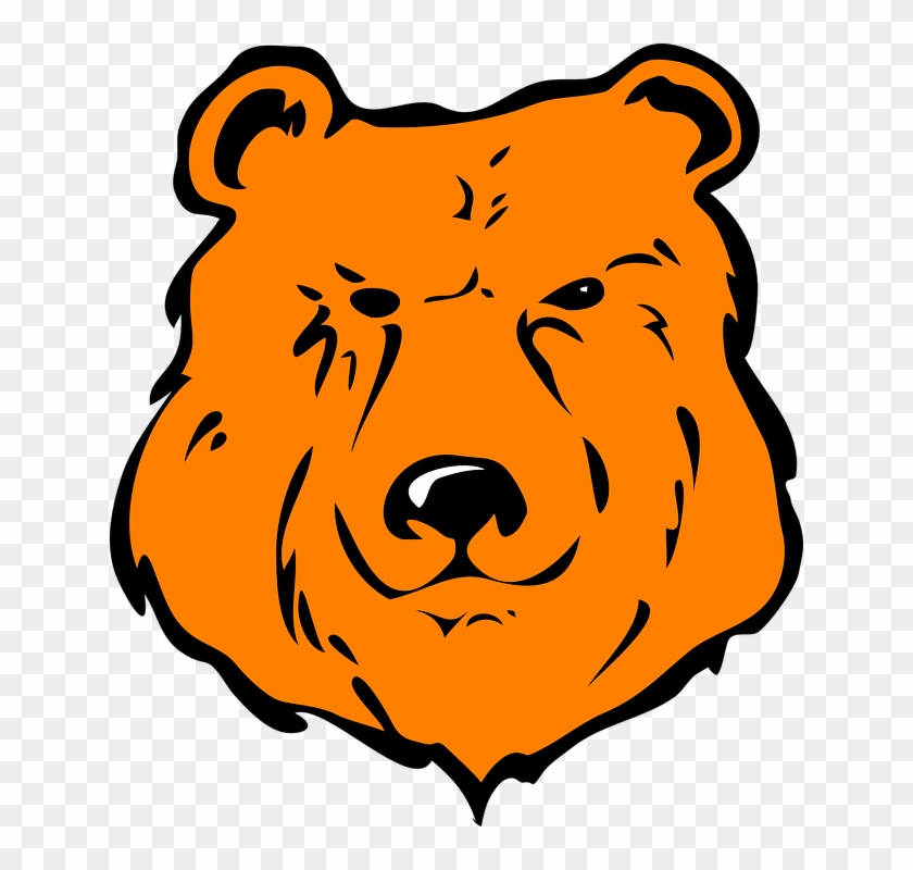 Cartoon Bear Head #200048
