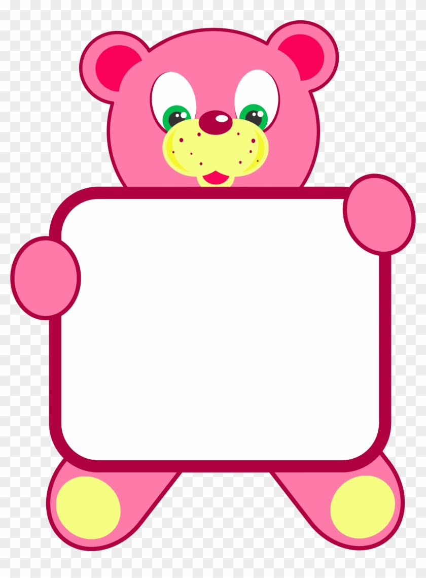 Teddy Bear Holding A Picture Frame Picture Frame Ideas