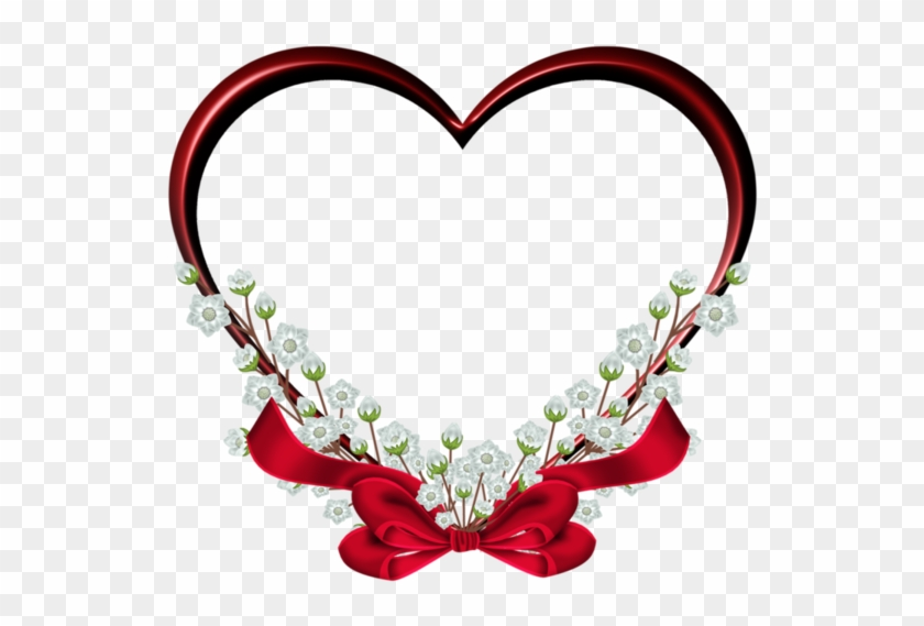Coeurs - Page - Love Heart Frame Png #200209
