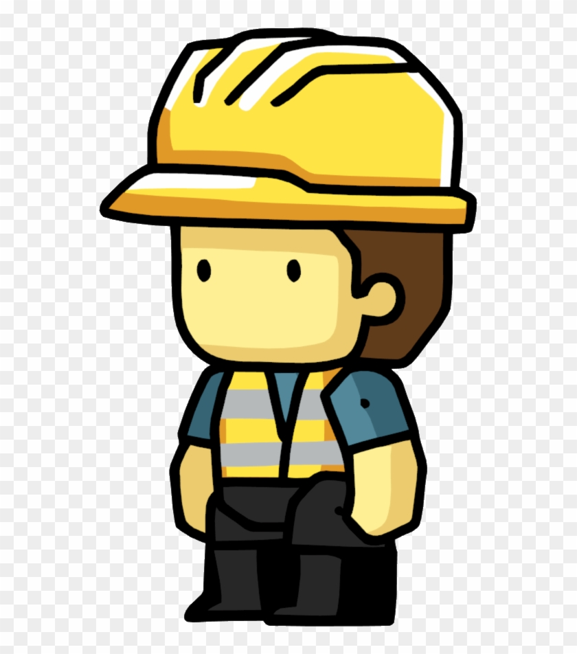 Construction Worker - Scribblenauts Wiki - Scribblenauts Construction Worker #200391