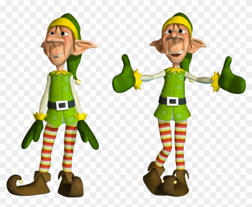 Elf Clipart Elf Body - Christmas Elves Png #200405