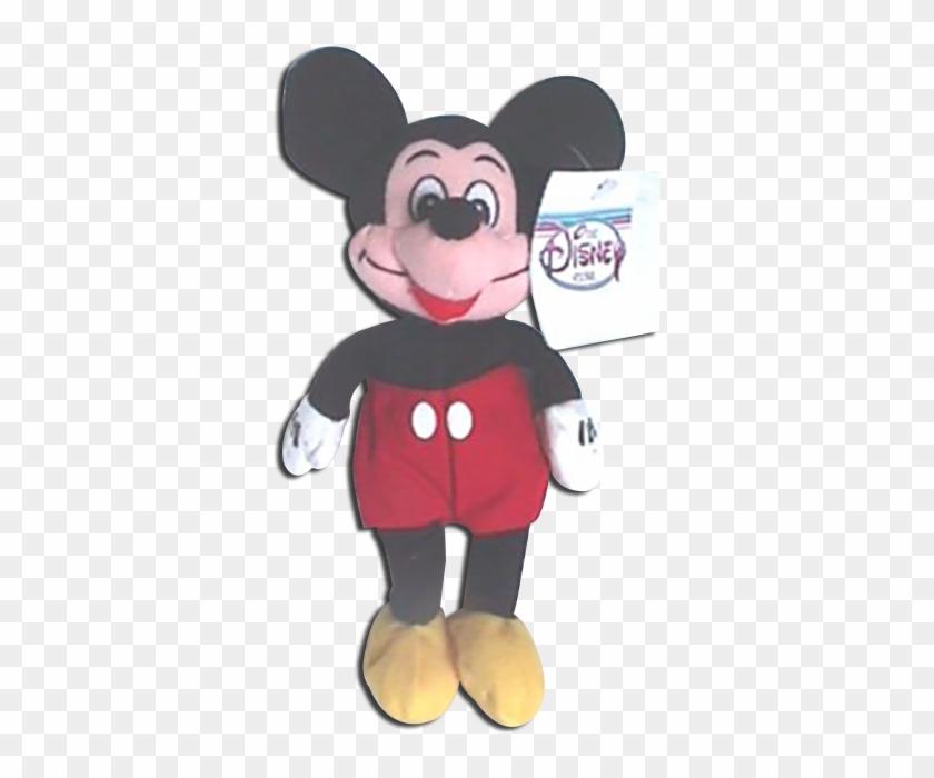Disney Store Plush Plush Mickey Mouse Bean Bag Stuffed Toy Free