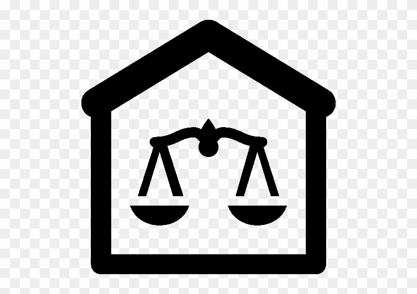 Downloads For City Courthouse - Court Icon Png #1227886