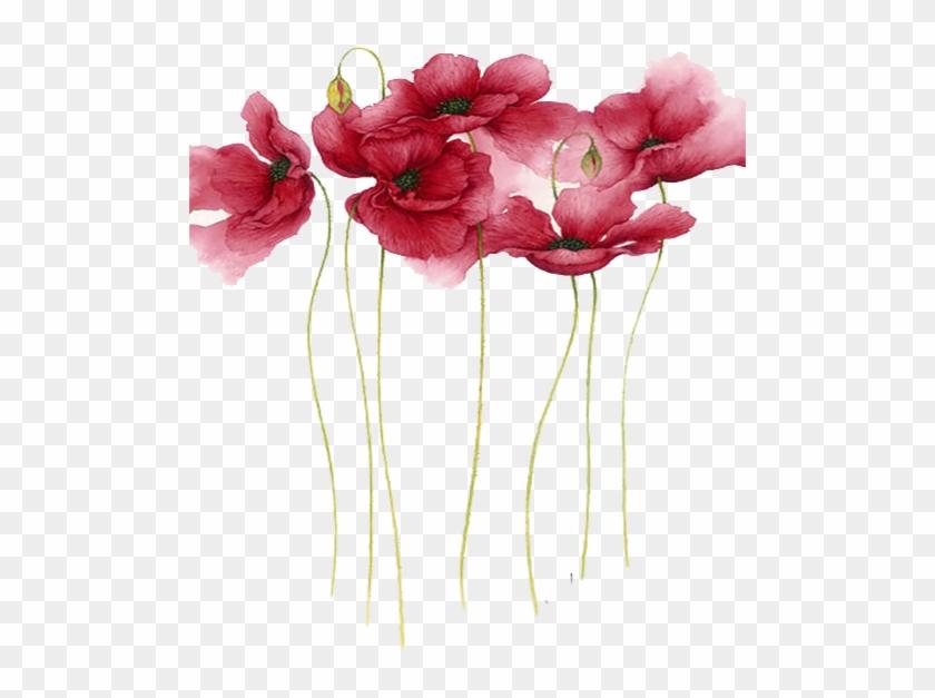 Watercolor Painting Flower Artist - Flower Watercolor Painting Png #1228526