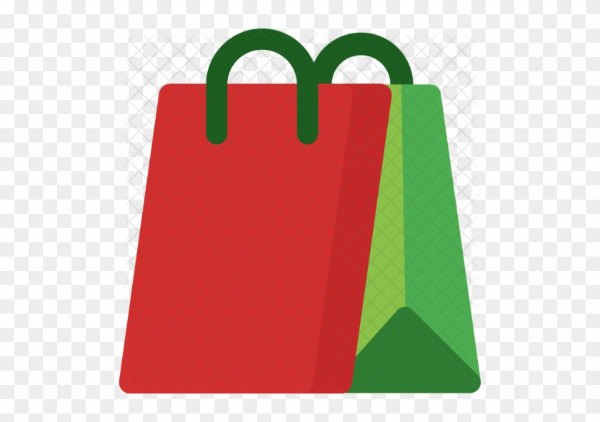 Shopping, Bag, Buy, Christmas, Online, Shop, Xmas Icon - Transparent Image Of Christmas Shopping Bags #1228987