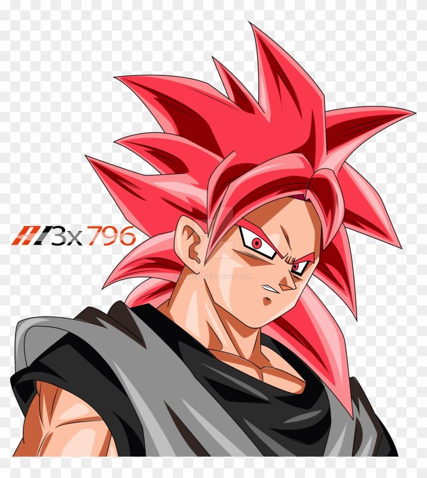 Goku Ssj Rose Black Color Palette By Al3x796 On Deviantart Goku